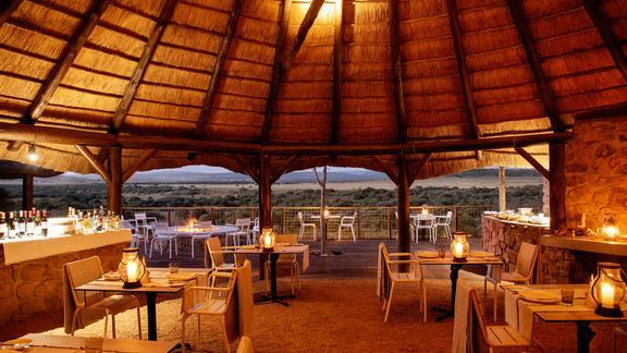 Riverdene at Shamwari Private Game Reserve - Riverdene Boma Dining