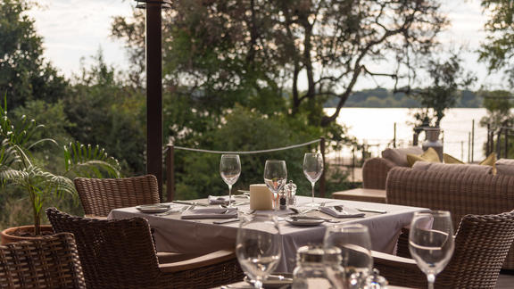 Old Drift Lodge, Victoria Falls - Old Drift Lodge, Al Fresco Dining