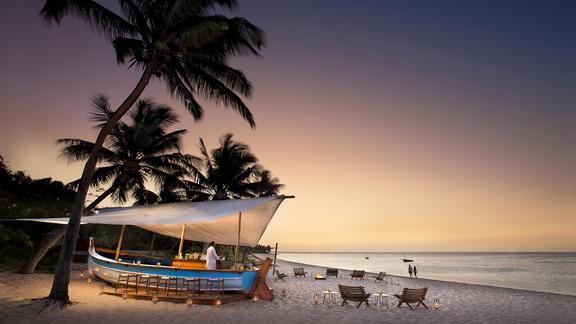 andBeyond Benguerra Island - Dhow Bar