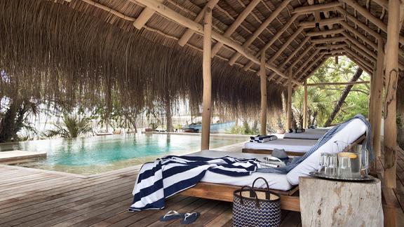 andBeyond Benguerra Island - Lodge Pool