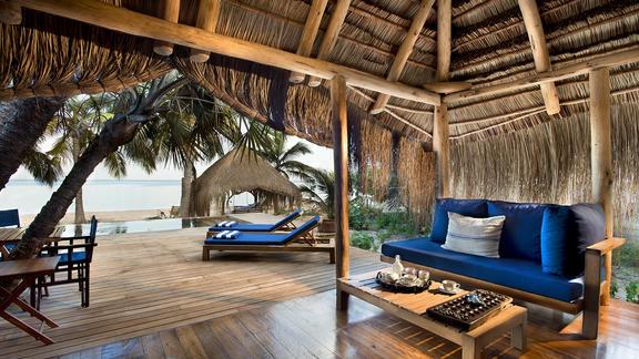 andBeyond Benguerra Island - Private Beach Sala
