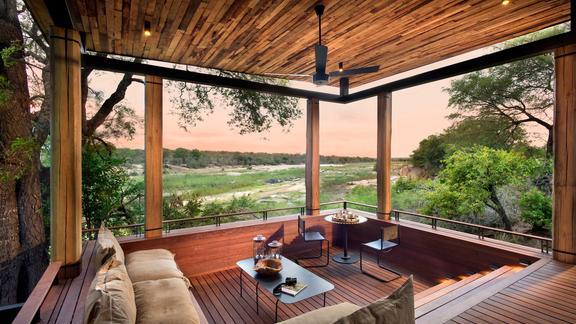 andBeyond Tengile River Lodge - Guest suite desk