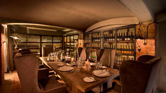 Ngorongoro Crater Lodge - Wine Store