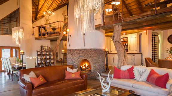 Main lodge seating -