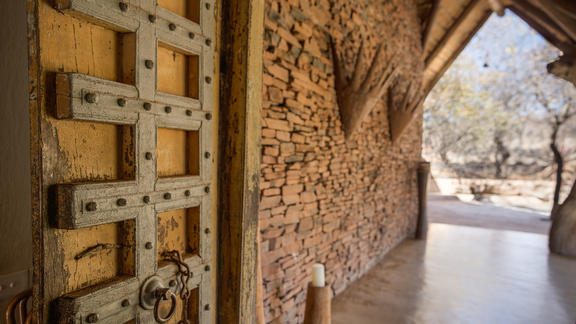 Enter the Main Lodge  -