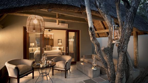 Ngala Private Game Reserve - Ngala Safari Lodge Cottage Verandah