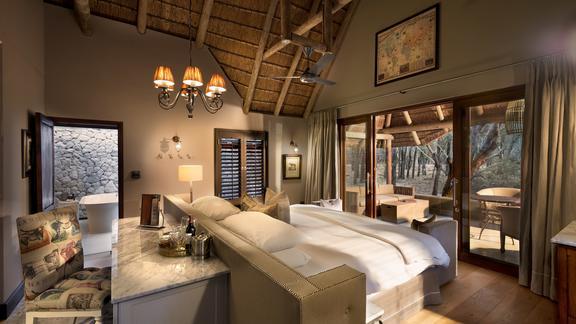 Ngala Private Game Reserve - Ngala Safari Lodge Cottage