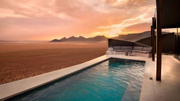 andBeyond Sossusvlei Desert Lodge - Guest suite - plunge pool