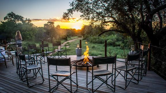 Campfire with View -