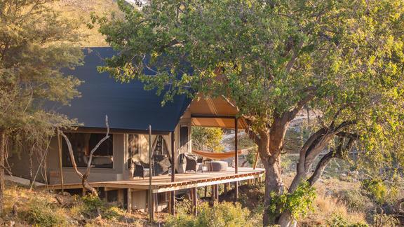 Luxury Tent Exterior -