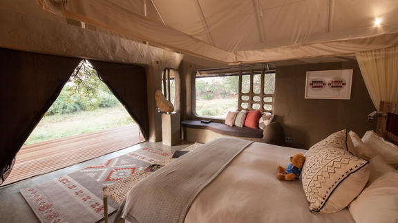 Luxury Tent Layout -