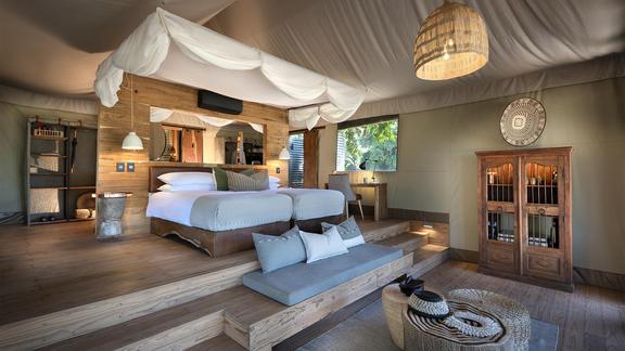 Nyamatusi Camp - Elegantly designed