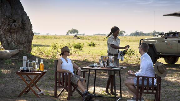 Nyamatusi Camp - Mana Pools bush stop