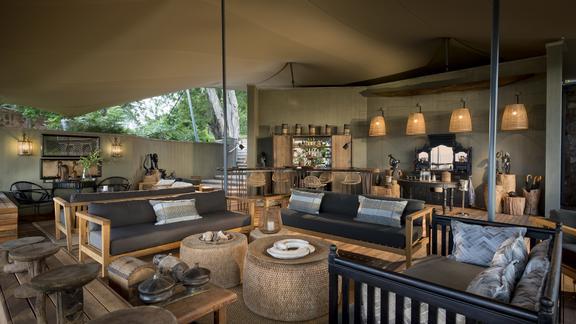 Bumi Hills Safari Lodge - Main Area