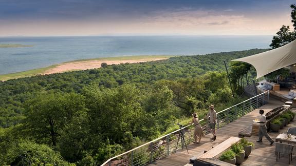 Bumi Hills Safari Lodge - Viewing Deck