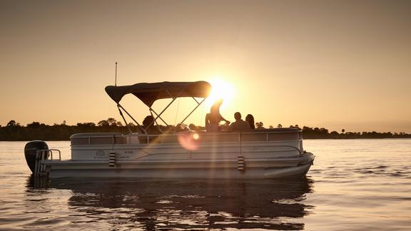 Victoria Falls River Lodge - Included Activities - Sunrise and sunset river cruises