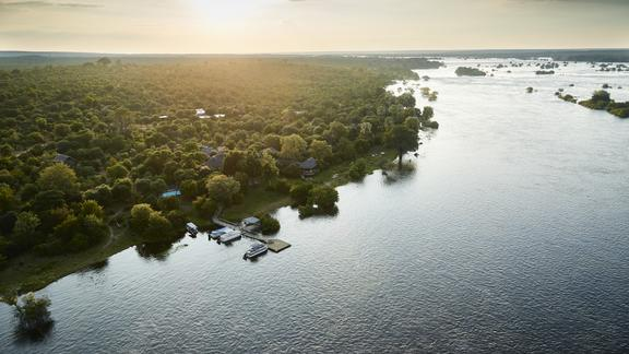 Victoria Falls River Lodge - Luxury Tented Suites - Nestled upon the banks of the mighty Zambezi River