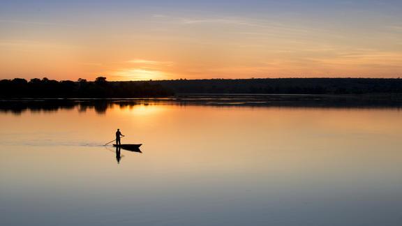 Private Zambezi waterways -