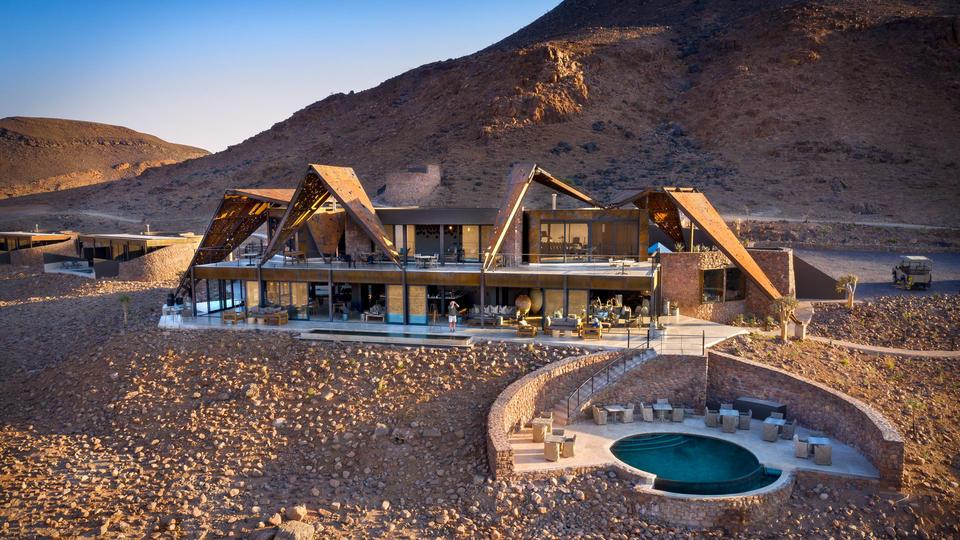 andBeyond Sossusvlei Desert Lodge - Guest area