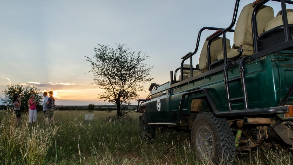 Game Drives - Included in the rate